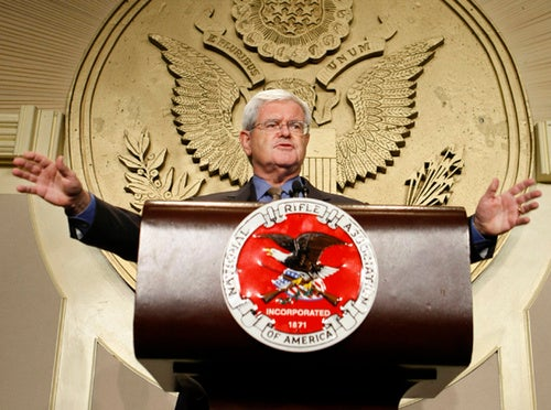Newt Gingrich: 'No Mosque, No Self Deception, No Surrender'!
