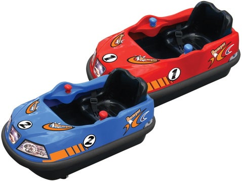 All I Want For Christmas Is My Two Electric Bumper Cars