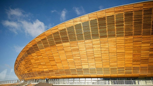 London's $150 Million Olympic Velodrome Looks Like Patio Furniture (Or Pringles)