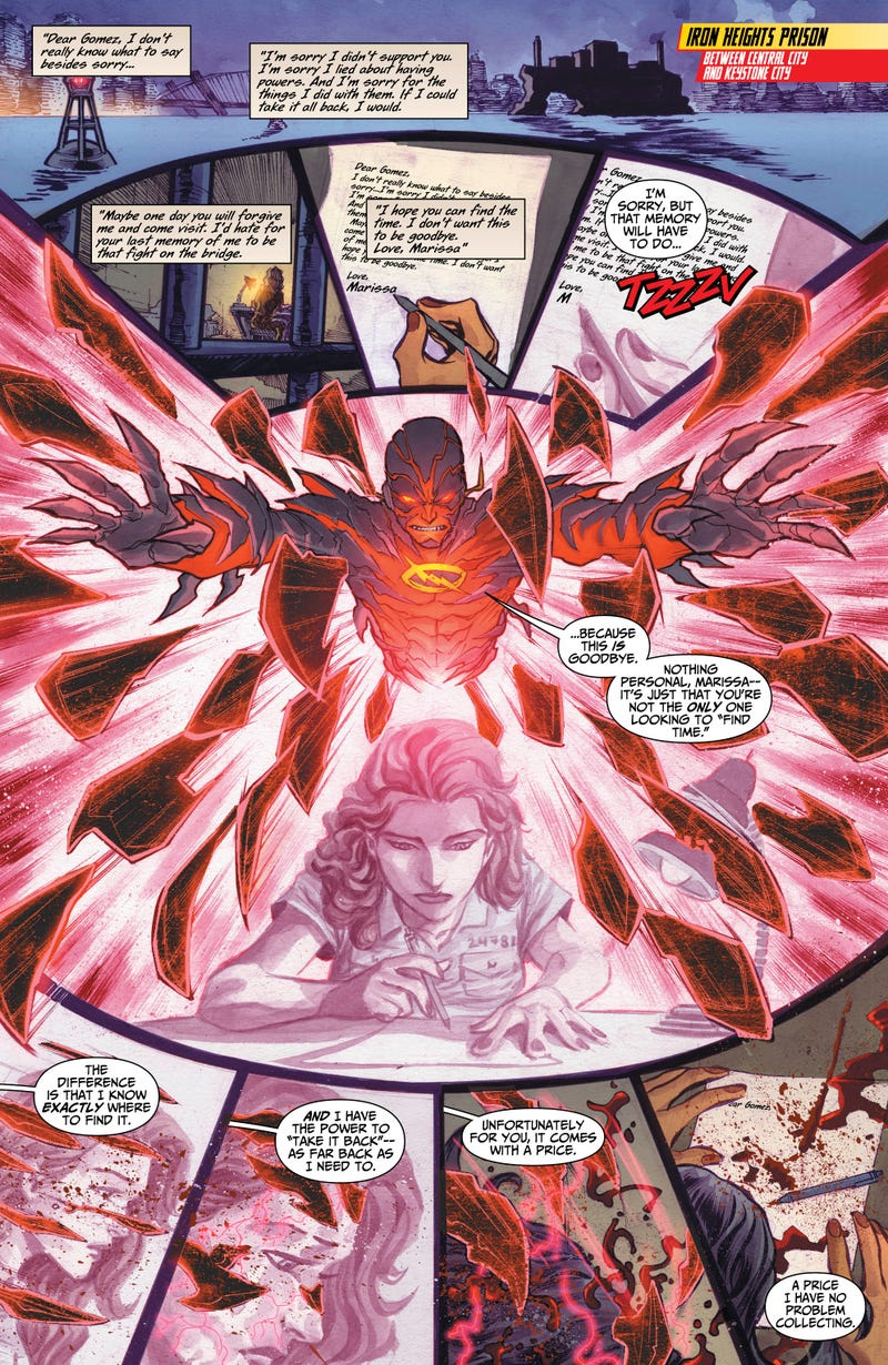 Barry Allen's Greatest Enemy Gets a Creepy Upgrade in The Flash #20