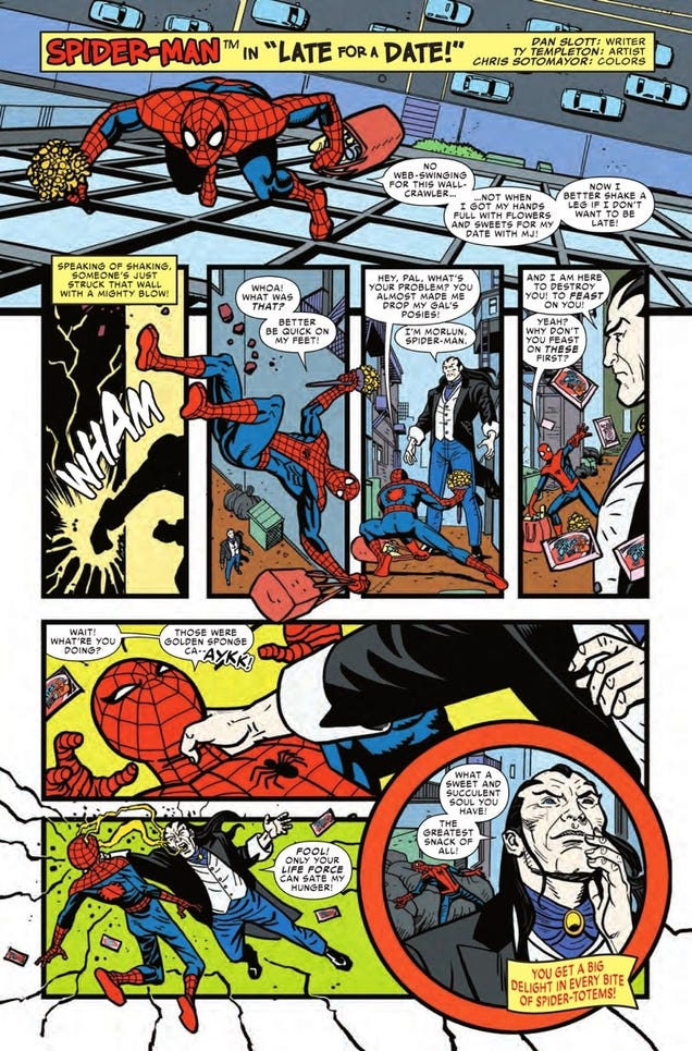 Spider-Verse Reveals Hostess®-Shilling Spidey's Ultimate Fate!
