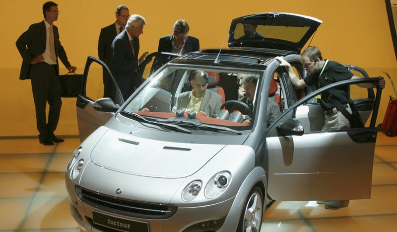 Smart Doesn't Care About Selling Americans A Four-Seat Smart