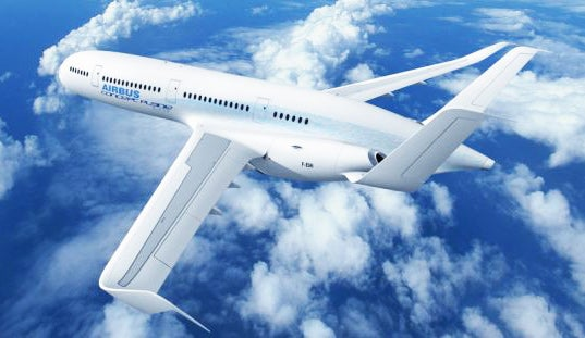 Airbus' Lightweight Plane of the Future Features Holographic Projections and Invisible Floors
