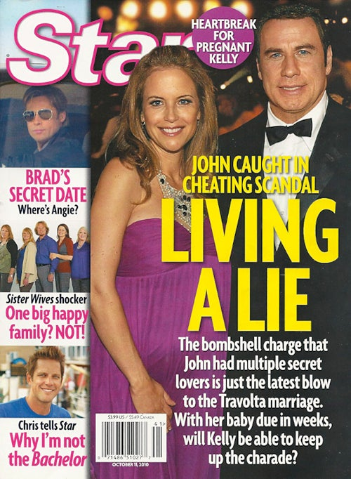 "This Week In Tabloids: Travolta Caught In ""Lewd Sex Acts"" With Men"