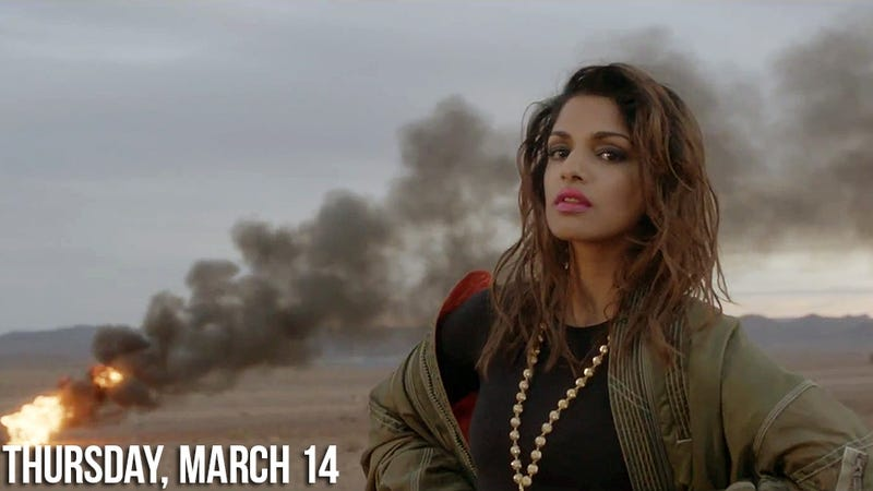 M.I.A. Loses Her Shit on Twitter Over Son's Custody Battle