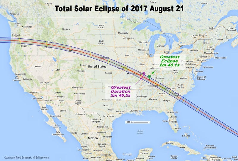 The Next Big Solar Eclipse Is A Year Away But People Are Already Planning A Party