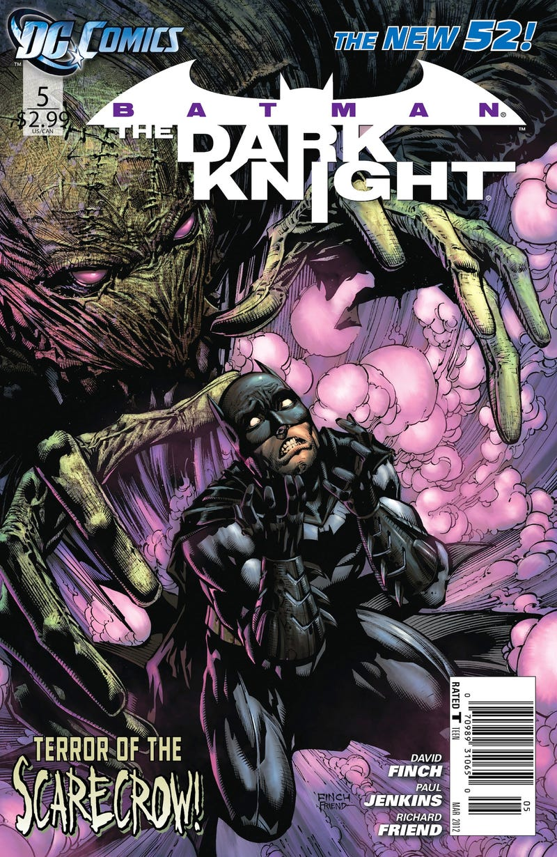 The Scarecrow Tries Giving Batman A Psychological Profile in This Batman: The Dark Knight #5