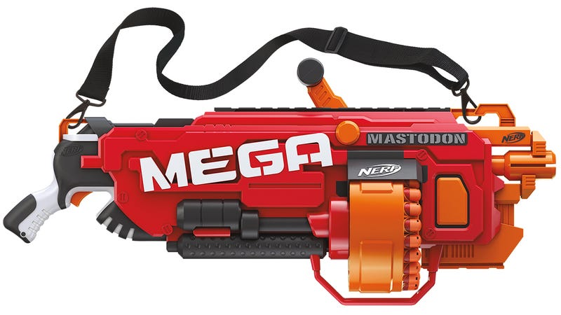 Exclusive: Nerf's Fall Lineup Includes a Fully Automatic Version of its 70 MPH Rival Blaster
