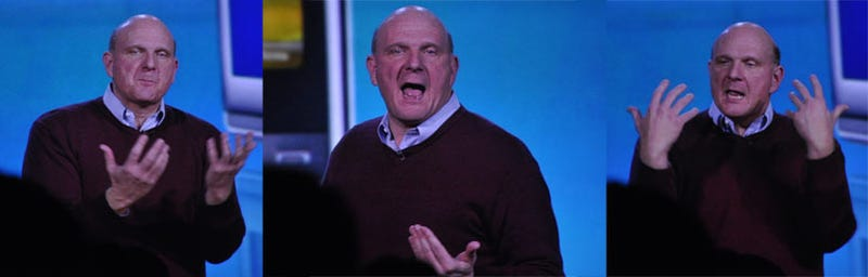 Live: Microsoft CES 2009 Keynote Kicks Off The Ballmer Years