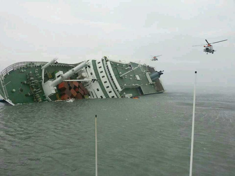 6 Dead, 290 Missing After Ferry Carrying South Korean Students Sinks