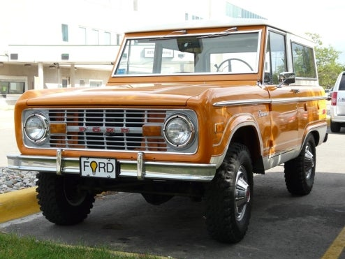 1969 Ford Bronco, Dutifully Awaiting Woodward Deployment