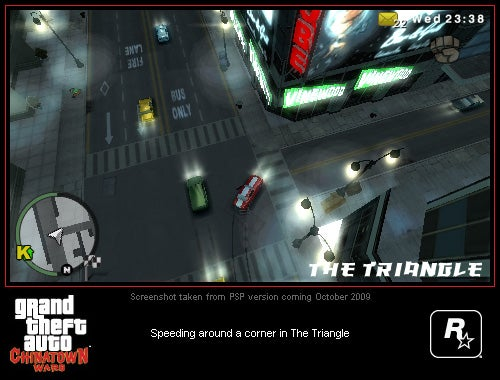 What GTA: Chinatown Wars Looks Like On The PSP
