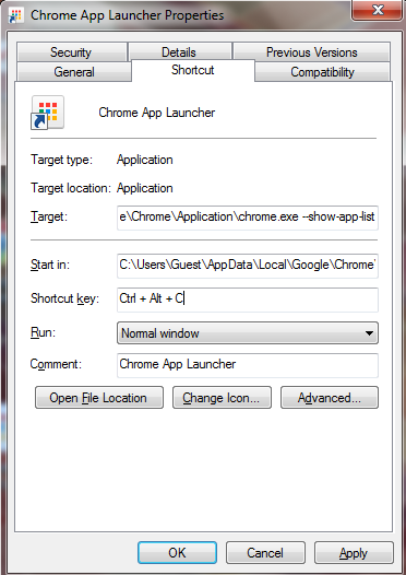 The Chrome App Launcher: Thoughts & Tips