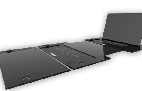Canvas Laptop Computer Concept for Creative Types