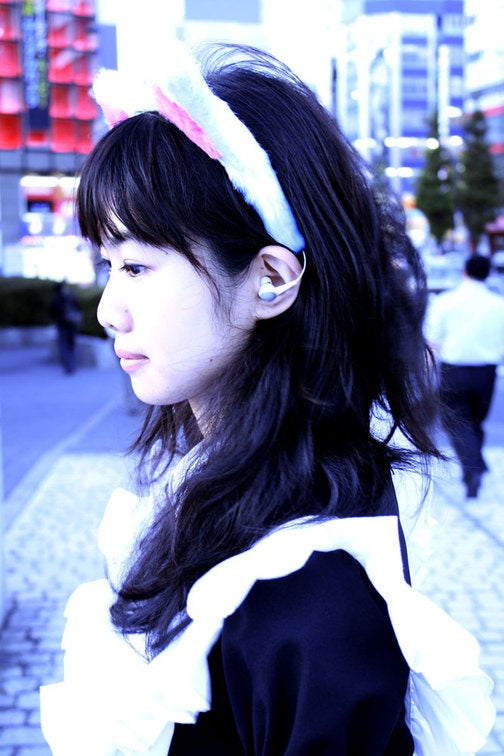 Thanko Fuzzy Cat Ear Headphone Gallery