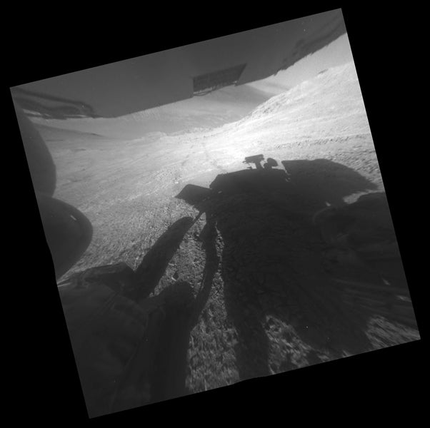 NASA's Opportunity Rover Got Stuck on a Hill on Mars