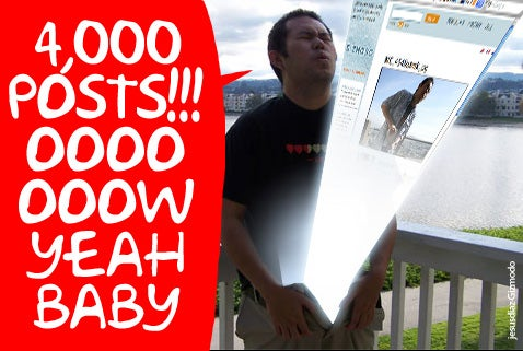 Jason Chen Nails His 4000th Gizmodo Post