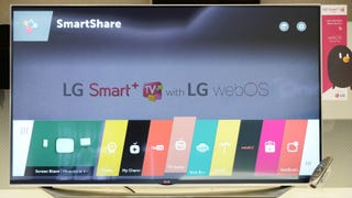 LG's New WebOS 2.0 Ribbon Navigator Might Actually Be Usable