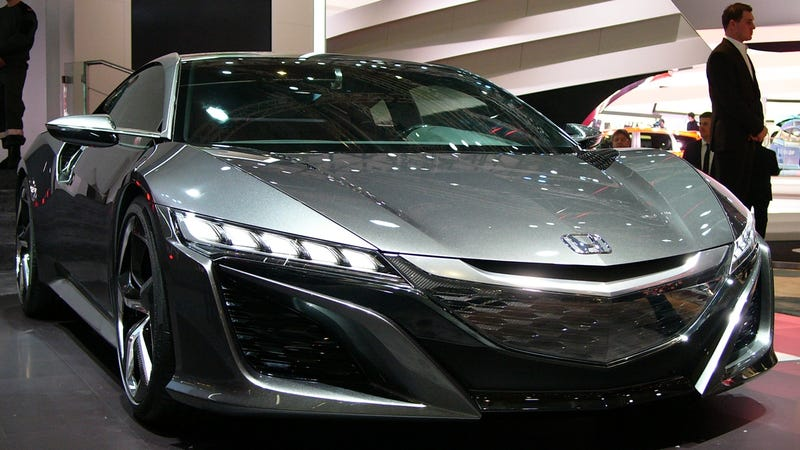 Why Does Everybody Forget About The NSX?