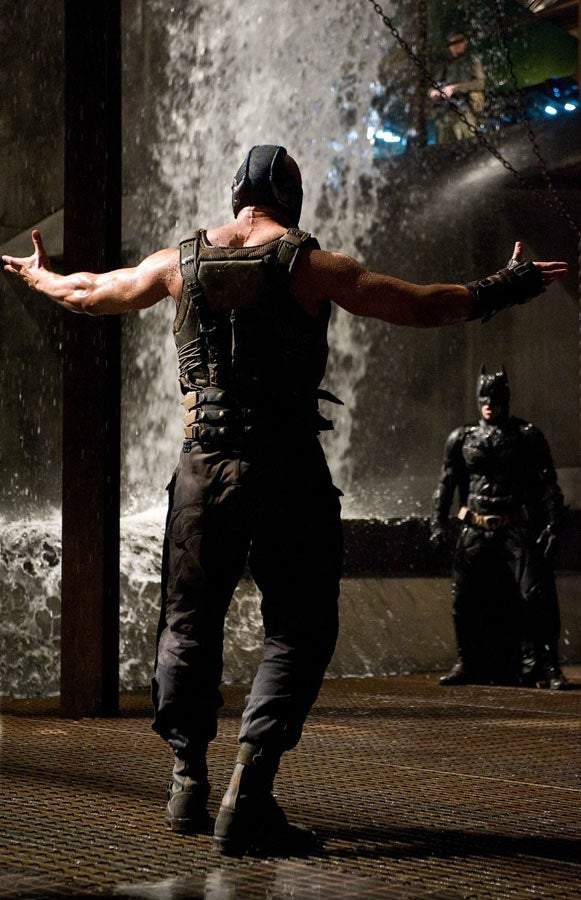 The Dark Knight Rises Bane Stills