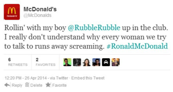 Catch an Exclusive Look at Ronald McDonald's Upcoming Tweets