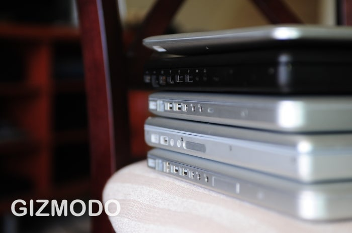 Sizemodo: New MacBook and MacBook Pro vs. Their Forebearers
