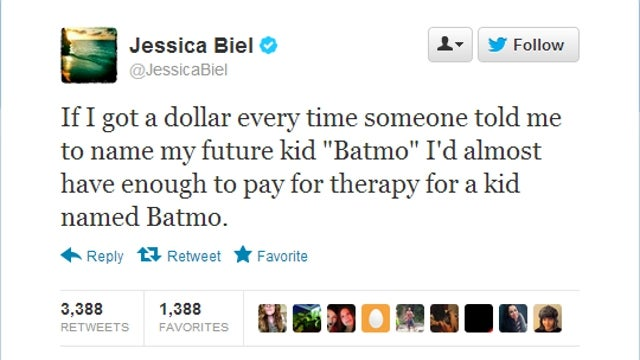 Jessica Biel Should Win an Academy Award for This Perfect Tweet