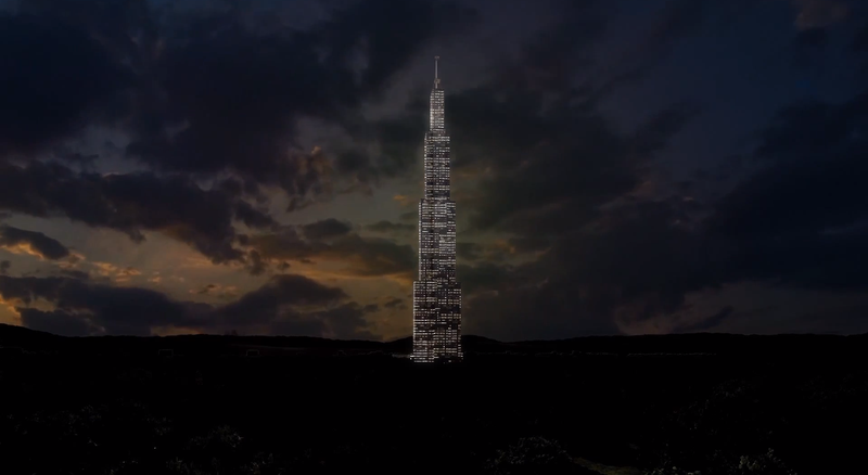 Can China Really Build the World's Tallest Building in 90 Days?
