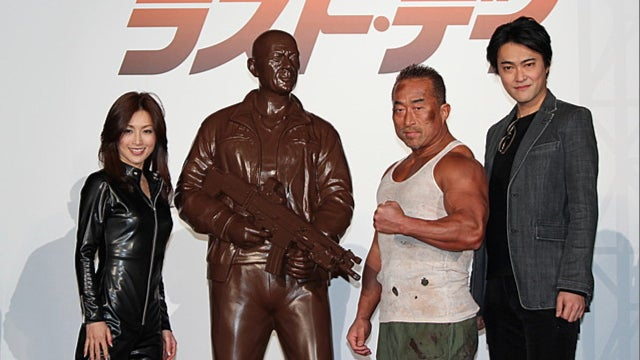 Yes, This Is Bruce Willis Made Out of Chocolate