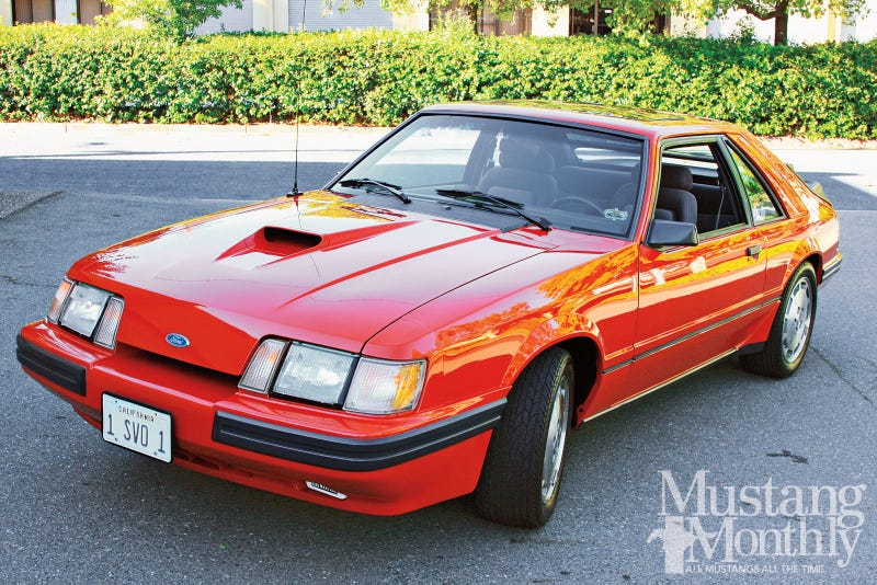who wants a ride in a 1985 Mustang SVO tomorrow? (L.A. area)