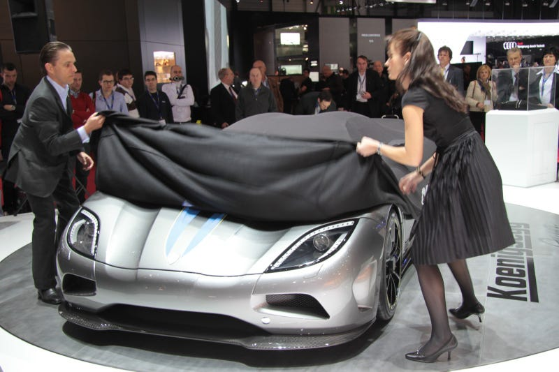 "Koenigsegg Agera: You Had Us At ""1000 HP V8"" And ""Nanotubes"""