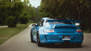 997 GT3 RS in Smurfberry Blue.