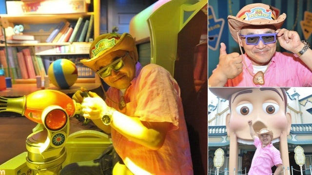 From Japanese Gaming Hero to...Disney Tour Guide