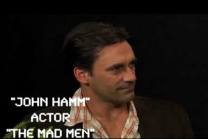 Zach Galifianakis Interviews Mad Men's Jon Hamm