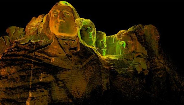 Incredible 3D Scans of Castles, Churches, and Even Mt. Rushmore
