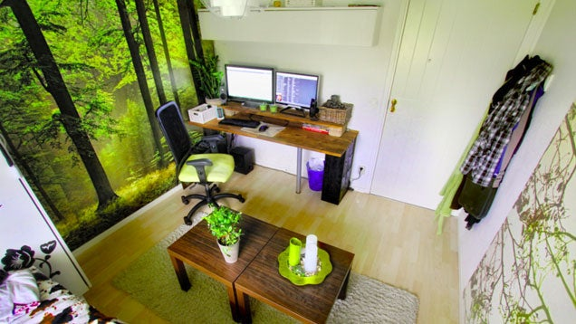 The Woodsy Workspace