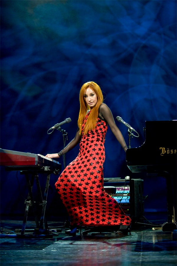 Tori Amos: Patchwork Stars & Piano Stripes Forever