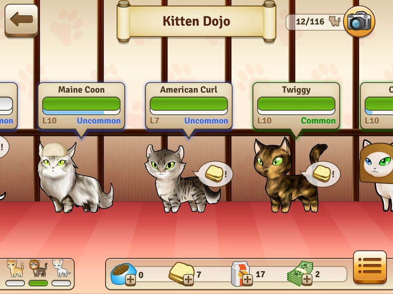 It's Like Pokemon, Only With Cats and Baked Goods
