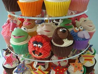 Mahnahmahnah! Muppet Cupcakes!