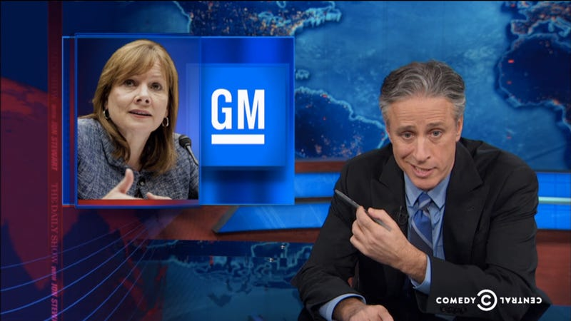 The Daily Show's Take Down Of The GM Recall Is Amazingly Perfect
