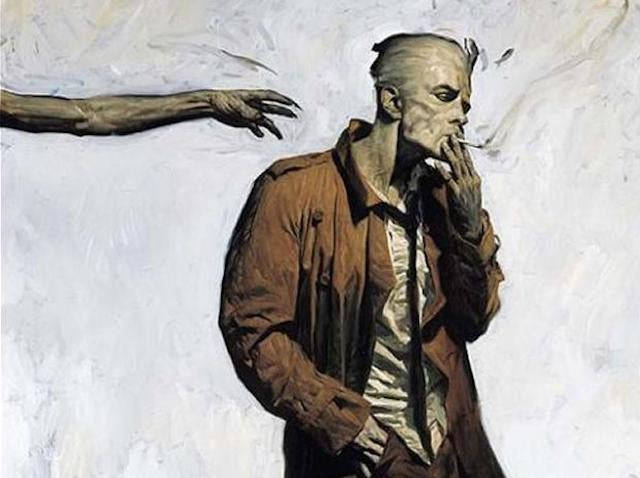 Damn if NBC's Constantine doesn't look exactly like John Constantine