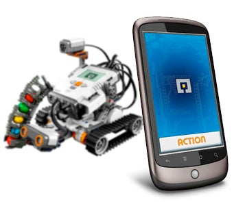 Control Lego Mindstorms Robots With a Free Android App