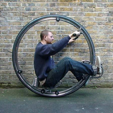 Ben Wilson's Monocycle Calls for Pert Buttocks