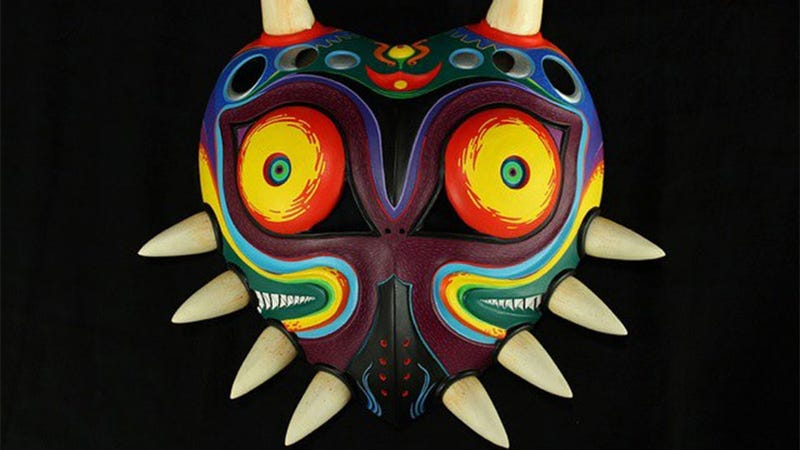 Real Majora's Mask Is Too Beautiful To Actually Wear