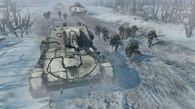 Disobey Orders In Company of Heroes 2 And Your Comrades Will Shoot You Down