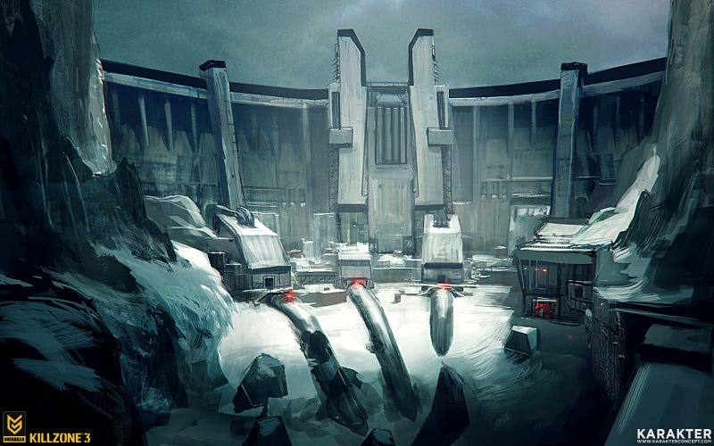 The Towering, Mechanical Art of Killzone 3