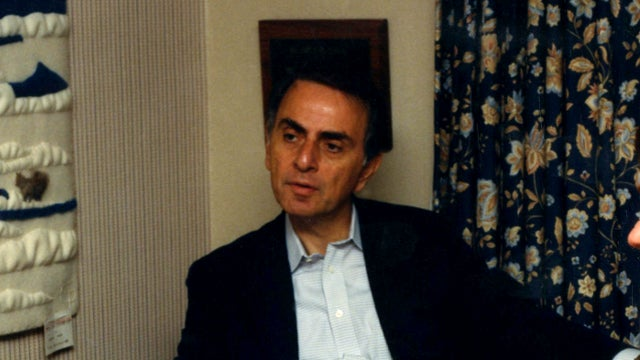 What Exactly Was Carl Sagan Working on with the U.S. Military?