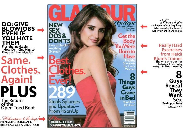 September Glamour: When It Comes To Blowjobs, Just Suck It Up
