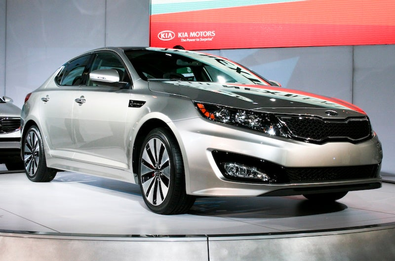 The 2011 Kia Optima Kicks Relative Ass