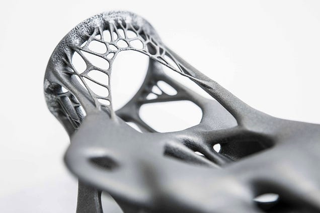 3D Printed Steel Structures Are As Efficient As They Are Awesome-Looking